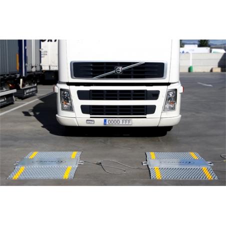 Balanza plataforma pesa ruedas vehículos BPR comprar barata