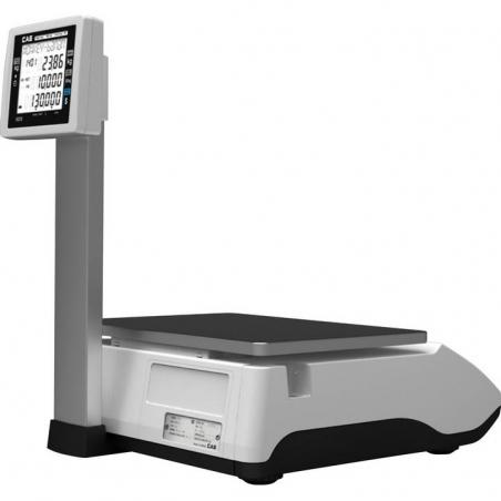 Balanza comercial con impresora y torre BAXTRAN-CT100P barata
